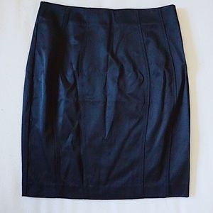 H&M Satin Pencil Skirt